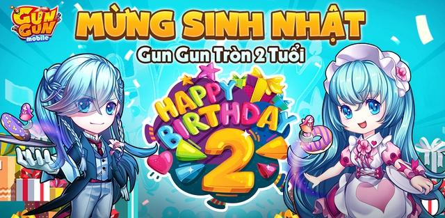 Gun Gun Mobile mừng sinh nhật 2 tuổi, tặng ngay loạt Giftcode VIP cho anh em game thủ chung vui! - Ảnh 1.