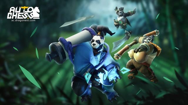 Sự xuất hiện của Ji Xi mang đến diện mạo mới cho tộc Pandaman trong Auto Chess - Ảnh 1.