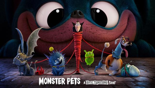 Phim ngắn Monster Pets ra mắt, giới thiệu phần cuối của loạt phim 'Hotel Transylvania' - Ảnh 1.