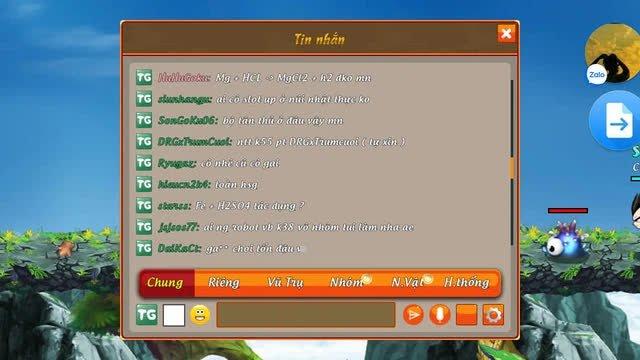 Khi bạn là học sinh giỏi nhưng cứ phải chơi game: Fan Dragon Ball trao đổi chiêu thức Hóa Học khiến cả server... đau hết cả đầu - Ảnh 8.