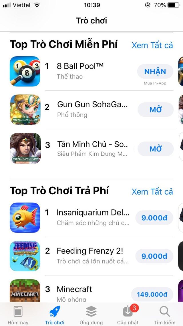 Giới TikTok đua nhau điều cơ khiến game luyện tay 8 Ball Pool bật TOP 1 App Store, TOP 2 và TOP 3 cũng cực bất ngờ - Ảnh 7.