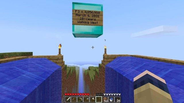 Game thủ dành hơn 1 thập kỷ và 10 tỷ đồng để đến được tận cùng của thế giới Minecraft - Ảnh 1.