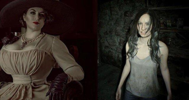 Hé lộ tạo hình ban đầu của nữ ác nhân trong Resident Evil Village - Ảnh 1.