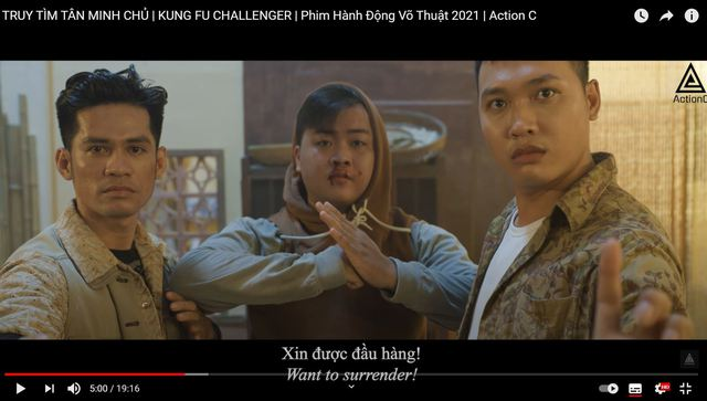 Hóa thân cao thủ võ lâm, team Action C tung chưởng Kim Dung cực mãn nhãn khiến Độ Mixi cũng phải cảm thán: Quá chất - Ảnh 7.