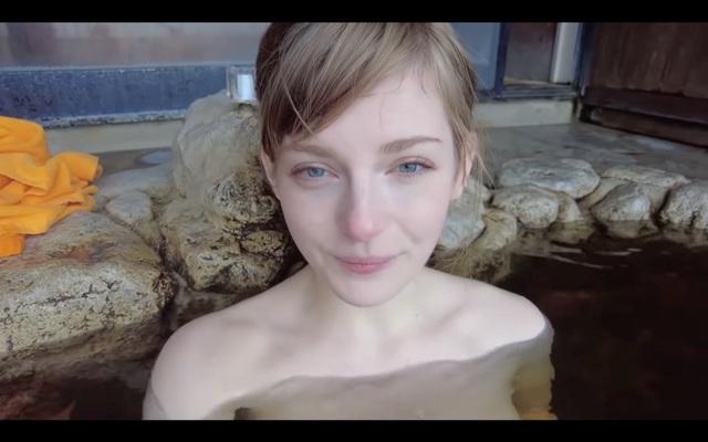 Sang tận Nhật Bản để cởi hết, quay clip tắm suối, nữ YouTuber xinh đẹp tăng gần 300.000 subs, được mời gọi đổi nghề - Ảnh 5.