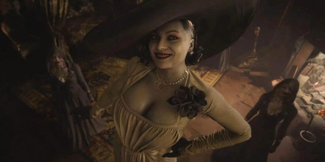 Hé lộ tạo hình ban đầu của nữ ác nhân trong Resident Evil Village - Ảnh 3.