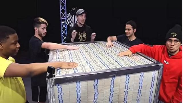 Treo thưởng 23 tỷ cho người tham gia thử thách, nam YouTuber gây sốc với luật chơi đơn giản Giữ tiền lâu nhất là win - Ảnh 1.