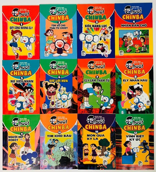 Nhìn lại 7 bộ truyện của tác giả Doraemon đã được xuất bản ở Việt Nam những năm 199x, cả bầu trời ký ức cứ thế ùa về - Ảnh 2.