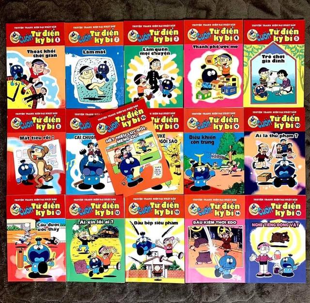 Nhìn lại 7 bộ truyện của tác giả Doraemon đã được xuất bản ở Việt Nam những năm 199x, cả bầu trời ký ức cứ thế ùa về - Ảnh 1.