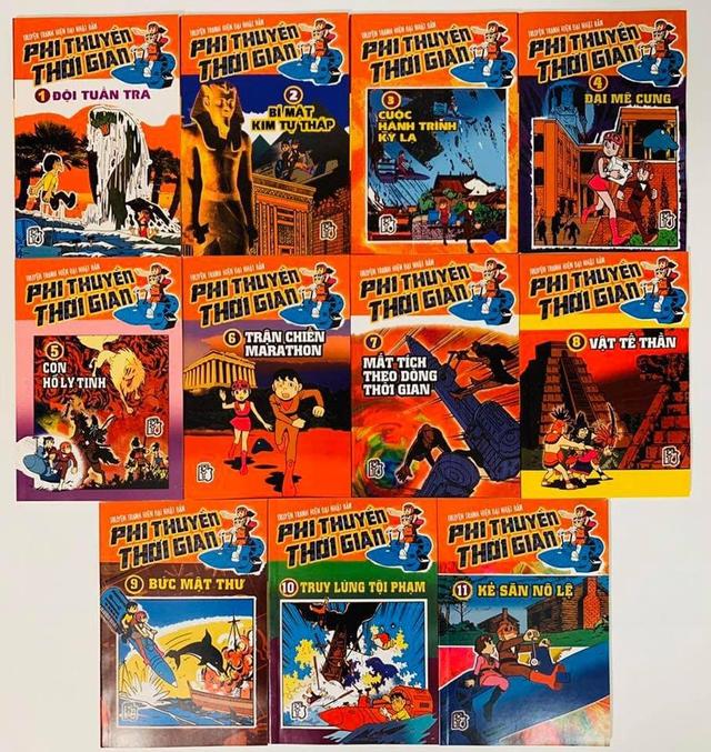 Nhìn lại 7 bộ truyện của tác giả Doraemon đã được xuất bản ở Việt Nam những năm 199x, cả bầu trời ký ức cứ thế ùa về - Ảnh 4.