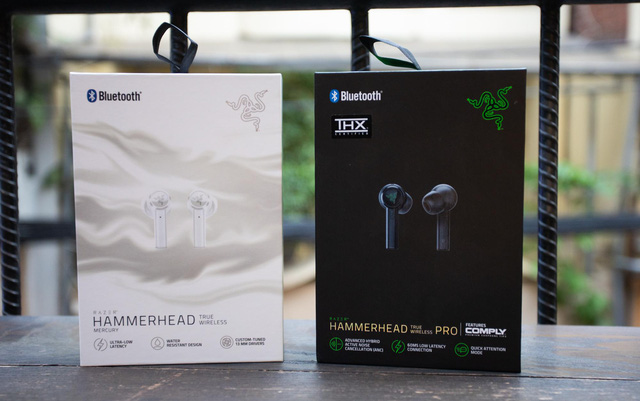 Cặp đôi tai nghe gaming không dây hiếm có khó tìm của Razer: Hammerhead True Wireless và Pro - Ảnh 1.