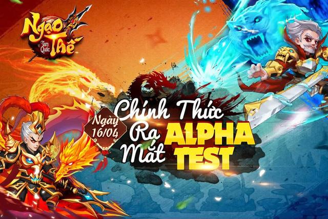 """3 lý do khiến game thủ """"không thể chối từ"""" Ngạo Thế Tam Quốc, tựa game đấu tướng Alpha Test hôm nay 16/4 - Ảnh 1."""