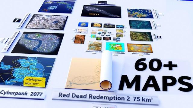 So sánh độ rộng của bản đồ trong game, Microsoft Flight Simulator giành top 1 - Ảnh 1.