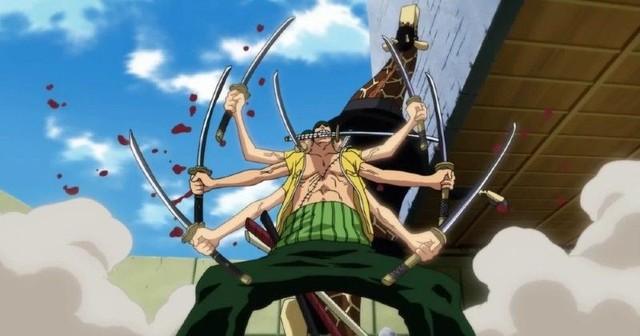 4 khoảnh khắc Zoro sử dụng kỹ thuật Asura trong One Piece, đòn tấn công Kaido là mạnh nhất - Ảnh 1.
