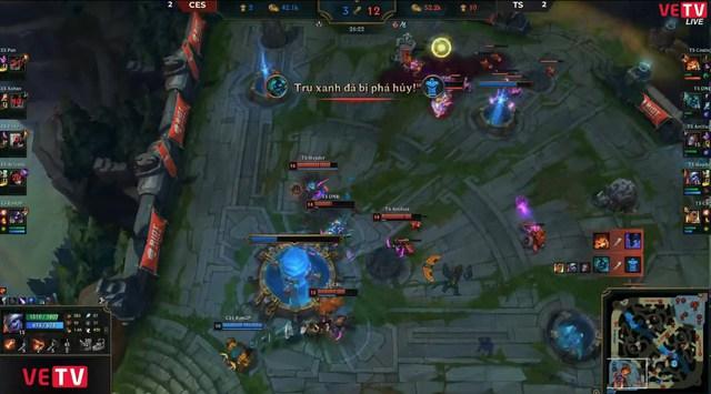 Team Secret đánh bại Cerberus Esports trong trận đấu khiến khán giả đau mắt hột - Ảnh 3.