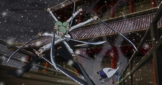 4 khoảnh khắc Zoro sử dụng kỹ thuật Asura trong One Piece, đòn tấn công Kaido là mạnh nhất - Ảnh 4.