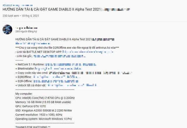 Vừa ra mắt bản beta, Diablo II: Resurrected đã bị crack, phát tán tràn lan trên mạng - Ảnh 1.