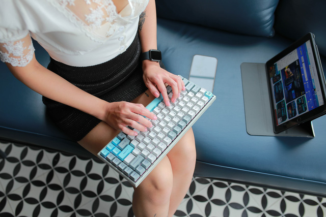 Bộ 3 bàn phím cơ không dây siêu ngon của AKKO: Tam kiếm hợp bích - Ảnh 7.