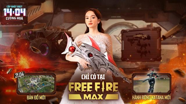 Sảnh chờ Free Fire Max OB27 khiến tất cả ngỡ ngàng với sự xuất hiện của Kaity Nguyen - Ảnh 1.