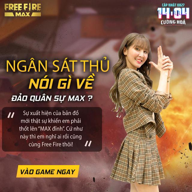 Sảnh chờ Free Fire Max OB27 khiến tất cả ngỡ ngàng với sự xuất hiện của Kaity Nguyen - Ảnh 5.