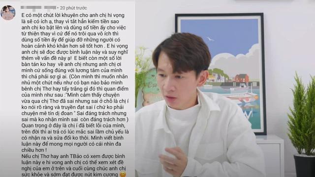 """Thơ Nguyễn """"comeback"""" trên YouTube, video mới lập tức nhận hàng nghìn lượt dislike với loạt phát ngôn gây tranh cãi - Ảnh 5."""