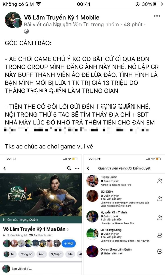 Game thủ VLTK 1 Mobile bị lừa tài khoản hơn chục triệu Đồng, sốc với thủ đoạn cực tinh vi và nham hiểm - Ảnh 2.