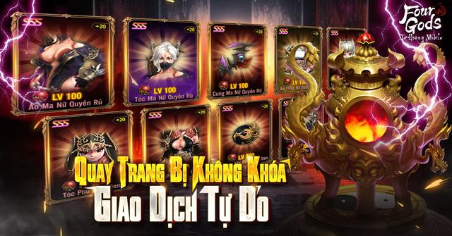 """Bom tấn hạng nặng và """"say NO"""" với thói lười, Tứ Hoàng Mobile ra mắt ngày mai 22/4 chính là phép thử vàng với gamer Việt - Ảnh 4."""