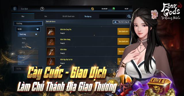 """Bom tấn hạng nặng và """"say NO"""" với thói lười, Tứ Hoàng Mobile ra mắt ngày mai 22/4 chính là phép thử vàng với gamer Việt - Ảnh 5."""