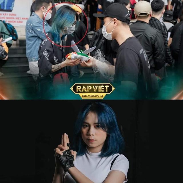 """CĐM dậy sóng, lan truyền hình ảnh rapper từng """"battle"""" với Cô Ngân trong MV triệu view đi thi Rap Việt - Ảnh 2."""