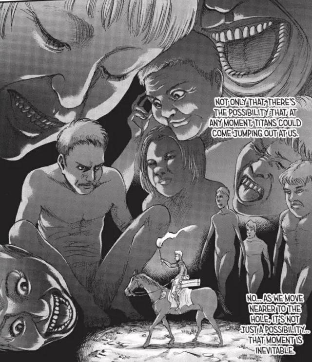 Attack on Titan: Vì sao loài người không chiếm thành Trost vào lúc bè lũ Titan nằm im? - Ảnh 4.