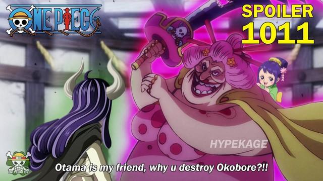 One Piece: Chẳng phải Luffy, chính Otama là người khiến liên minh 2 Tứ Hoàng Big Mom và Kaido tan vỡ - Ảnh 2.