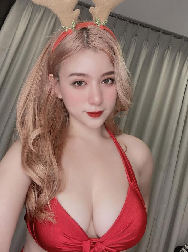 Sở hữu vòng ba hơn 1m, nàng hot girl Việt gặp rắc rối vì quá đỗi xinh đẹp và gợi cảm - Ảnh 3.