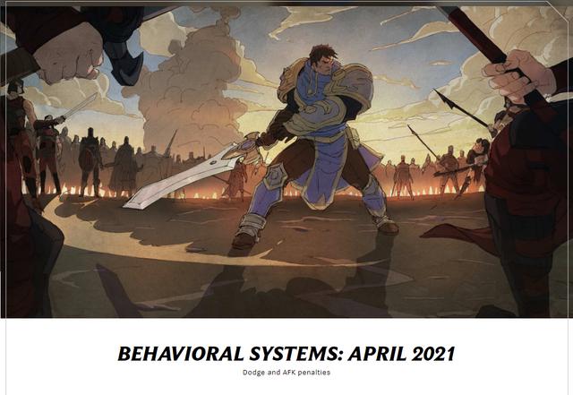 công bố kế hoạch nâng mức độ xử phạt đối với các hành vi phá game trong LMHT 2021 Afk-16191443935511202439677