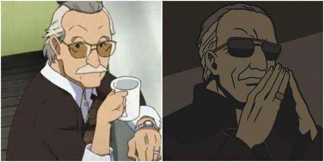 5 vai diễn cameo nổi tiếng nhất trong Anime Stan-lee-makes-anime-cameos-16192747393661853041817