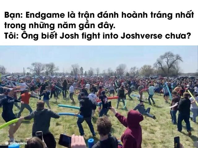 Josh Fight – Trận chiến meme hài hước nhất lịch sử, hàng trăm người tham gia chiến đấu để giữ lại tên gọi của mình - Ảnh 3.