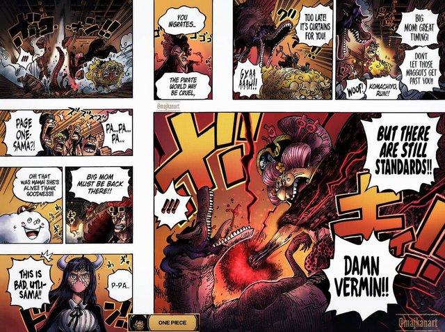 Phấn khích vì Big Mom đấm vỡ mồm Page One, nhiều fan chỉ ra rằng chính Sanji mới là con cưng của Oda - Ảnh 1.