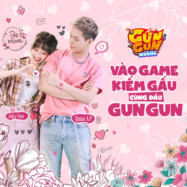 Nàng thơ Juky San bắt cặp cùng Quân A.P, tung bộ ảnh đôi cực tình cho TOP 1 game bắn súng tọa độ - Gun Gun Mobile - Ảnh 3.