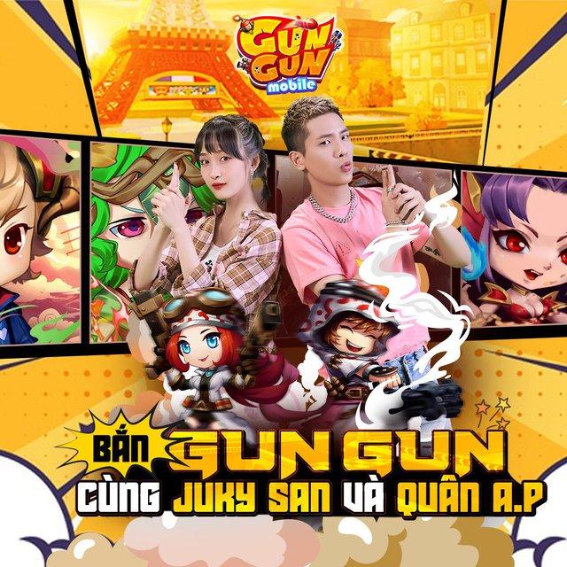 Nàng thơ Juky San bắt cặp cùng Quân A.P, tung bộ ảnh đôi cực tình cho TOP 1 game bắn súng tọa độ - Gun Gun Mobile - Ảnh 4.