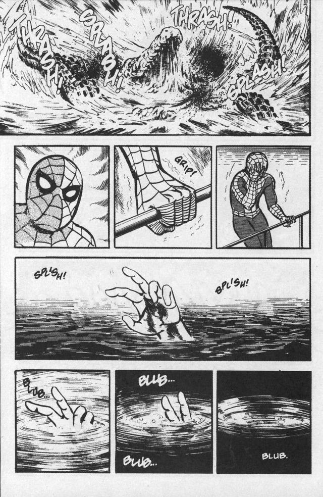 5 phiên bản Manga dị nhất của các siêu anh hùng Spiderman-japan-1619384086587306256818