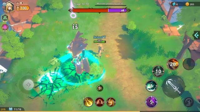 Phiêu lưu vào thế giới giả tưởng đầy hấp dẫn của tựa game mới: Echoes Of Magic - Ảnh 5.