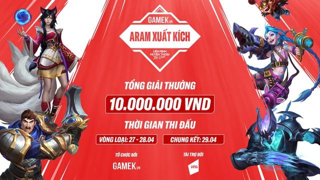 Giải đấu Tốc Chiến: Aram Xuất Kích chính thức khởi tranh, giải cộng đồng mà số lượng đông đảo thế này đây - Ảnh 1.