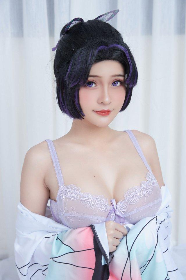 Kimetsu no Yaiba: Trùng trụ Shinobu qua màn hóa thân của nàng coser Việt, đẹp không để đâu cho hết - Ảnh 9.