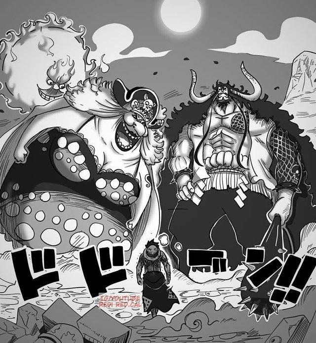 One Piece: Kịch bản nào sẽ đến với Tứ Hoàng Big Mom, lại rơi xuống biển hay là được cứu? - Ảnh 3.