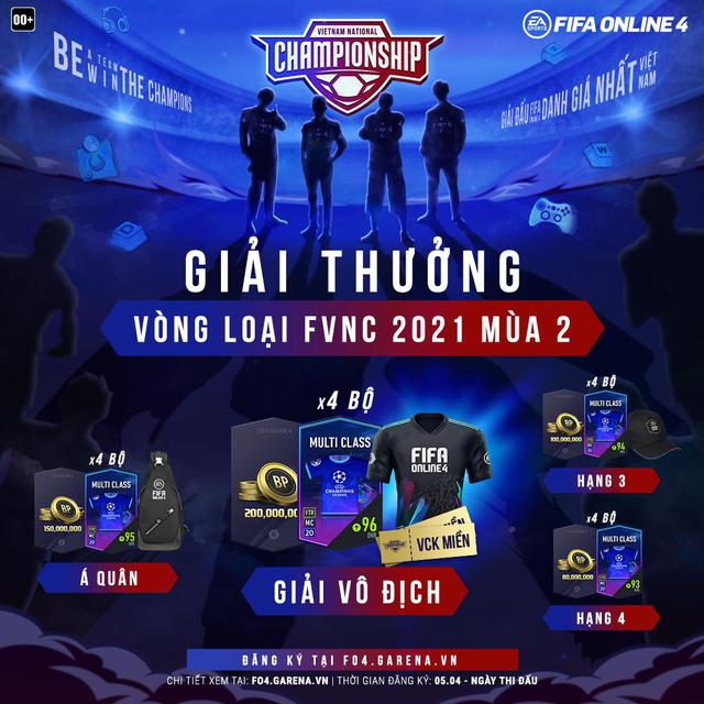 FIFA Online 4 - FVNC 2021