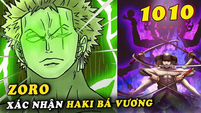 Spoil đầy đủ One Piece chap 1010: Luffy học được cách chiến đấu mới với Haki bá vương - Ảnh 1.