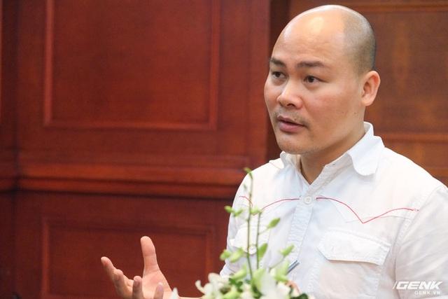 CEO BKAV Nguyễn Tử Quảng: Icon của Bphone đẹp hơn Vsmart, giải quyết được nỗi băn khoăn của giới thiết kế trên toàn thế giới - Ảnh 5.