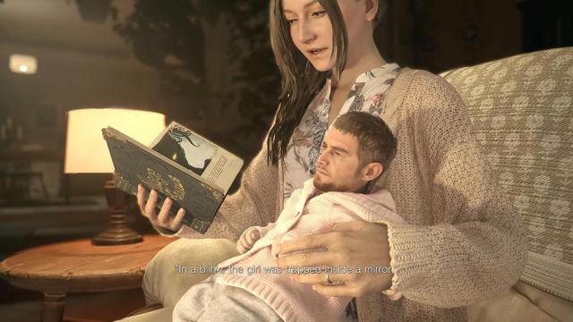 Bản mod biến nhân vật Chirs thành đứa bé trong Resident Evil Village - Ảnh 2.