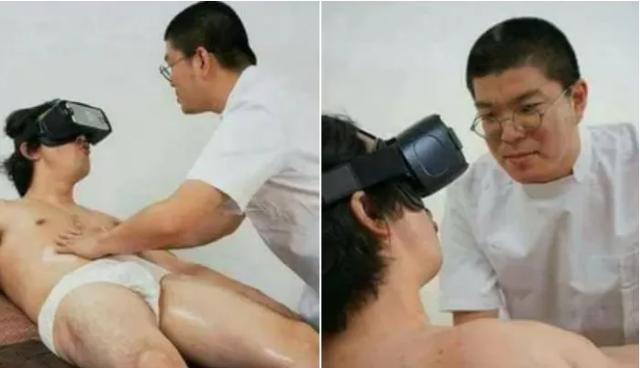 Thử một buổi massage với kính VR, nam YouTuber cứ ngỡ được trải nghiệm gái xinh phục vụ và cái kết ngỡ ngàng - Ảnh 1.