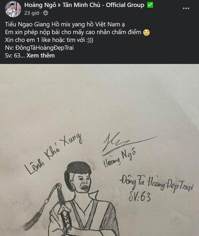 Anh hùng hảo hớn + bút bi Thiên Long = Chúma hnề: Fan Việt lầy thế này thì đành xin đại cao thủ thủ Kim Dung lượng thứ - Ảnh 5.