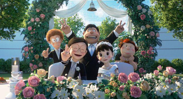 """Nobita chạy trốn ngay trước đám cưới với Shizuka và hành trình trưởng thành đầy cảm động của cậu bé hậu đậu trong """"Doraemon: Stand By Me 2"""" - Ảnh 5."""